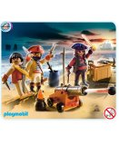 PLAYMOBIL PIRATES 5136 EQUIPAGE DE PIRATES AVEC ARMES