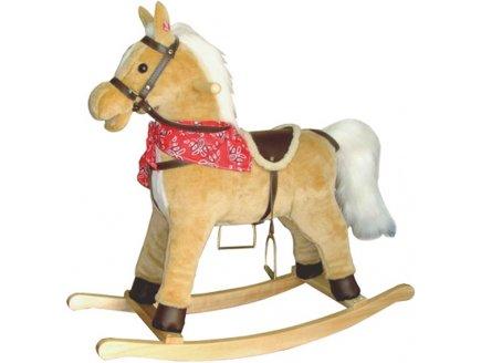 vente jouets magnifique cheval bascule blanc et gris perle pictures to pin on pinterest. Black Bedroom Furniture Sets. Home Design Ideas