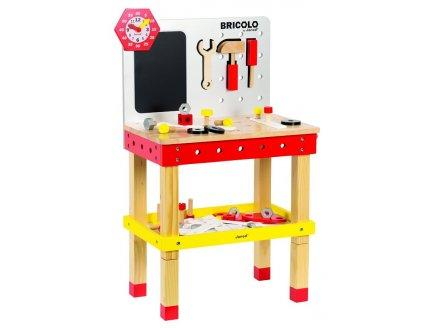 grand tabli en bois magn tique et volutif jouet janod. Black Bedroom Furniture Sets. Home Design Ideas