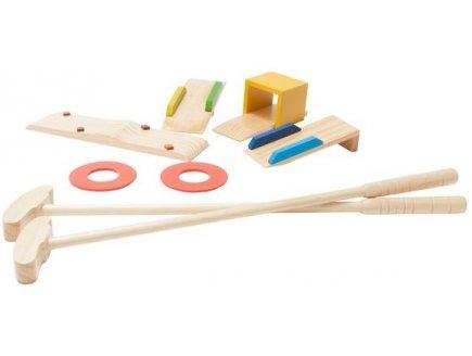 vente mini golf en bois set mini golf enfant jouet club. Black Bedroom Furniture Sets. Home Design Ideas