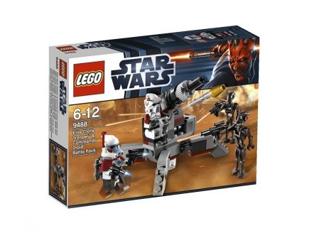 LEGO STAR WARS 9488 ELITE CLONE TROOPER & COMMANDO DROID