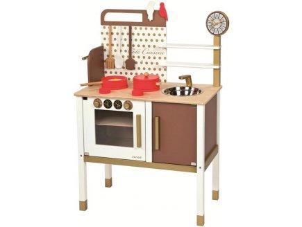 jeu imitation c t cuisine enfant maxi cuisine chic en bois janod 06520boutique mobile. Black Bedroom Furniture Sets. Home Design Ideas