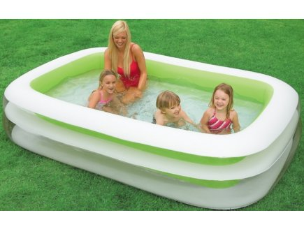 Piscine gonflable rectangulaire grande piscine gonflable for Pied piscine intex
