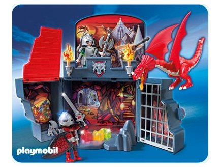 playmobil dragons playmobil 5420 coffret chevaliers dragons transportable. Black Bedroom Furniture Sets. Home Design Ideas