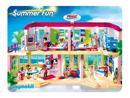 playmobil vacances playmobil 5265 achat grand h tel. Black Bedroom Furniture Sets. Home Design Ideas