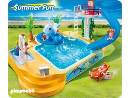 playmobil summer fun playmobil 5433 piscine avec