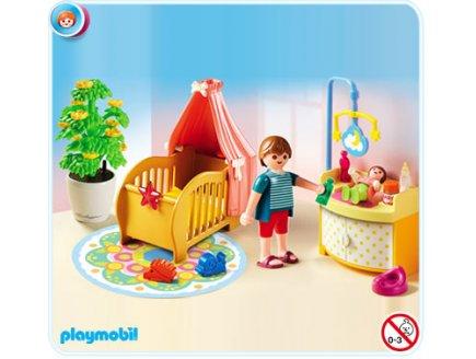 Playmobil r f rence 5334 playmobil vie en ville for Playmobil chambre bebe