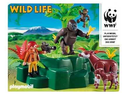playmobil wild life playmobil 5273 animaux sauvages playmobil. Black Bedroom Furniture Sets. Home Design Ideas