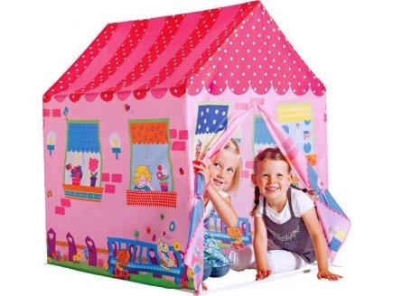 maisonnette enfant en toile cabane d int rieur pour enfant maison jouet 2 ans. Black Bedroom Furniture Sets. Home Design Ideas