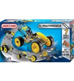 7 MODELES NEW GENERATION MECCANO MULTIMODELS - BUGGY - AVION - JEU DE CONSTRUCTION - 834550