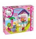 BAR DE LA PLAGE HELLO KITTY - BRIQUES - JEU DE CONSTRUCTION