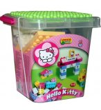 BARIL DE 104 BRIQUES HELLO KITTY - JEU DE CONSTRUCTION