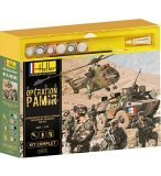 COFFRET THEMATIQUE OPERATION PAMIR MAQUETTES 3 MODELES - ECHELLE 1/72 - HELLER - 52319