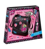 DECORE TON PROPRE SAC MONSTER HIGH - KIT LOISIR CREATIF - TOTUM - 562004