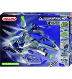 DESTROYER SILVER FORCE MECCANO SPACE CHAOS - VAISSEAU SPATIAL - JEU DE CONSTRUCTION - 807101