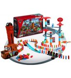 DOMINO CLICK & GO CARS 2 GRAND PRIX MONDIAL - GIRO - DC0001 - JEU DE CONSTRUCTION