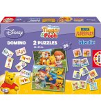 EDUCA - 14072 - JEU EDUCATIF - SUPERPACK WINNIE - DOMINO PUZZLE MEMO