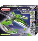FIGHTER SILVER FORCE MECCANO SPACE CHAOS - VAISSEAU SPATIAL - JEU DE CONSTRUCTION - 805101