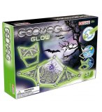 GEOMAG GLOW - 37 PIECES - JEU DE CONSTRUCTION MAGNETIQUE