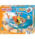 HELICOPTERE MECCANO BUILD AND PLAY - 4 MODELES - AVION - JEU DE CONSTRUCTION - 735106