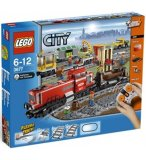 LEGO CITY EXCLUSIVITE 3677 LE TRAIN DE MARCHANDISES ROUGE
