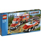 LEGO CITY EXCLUSIVITE 4430 LE TRANSPORTEUR DES POMPIERS