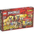 LEGO NINJAGO EXCLUSIVITE 66383 SUPER PACK 3 EN 1