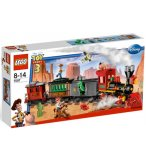 LEGO TOY STORY 3 7597 COURSE POURSUITE DANS LE TRAIN DU FAR WEST