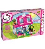 MAISON COMPLETE ET EQUIPEE HELLO KITTY - JEU DE CONSTRUCTION