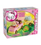 MINI SAFARI HELLO KITTY - JEU DE CONSTRUCTION