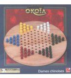 OKOIA - DAMES CHINOISES - JEU DE l'HALMA - JEU TRADITIONNEL