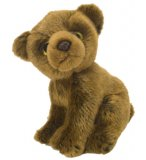 PELUCHE GRIZZLY 18 CM - WILD WATCHERS - WILD REPUBLIC - 10244
