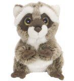 PELUCHE RATON LAVEUR 18 CM - WILD WATCHERS - WILD REPUBLIC - 88760
