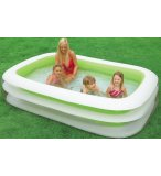 PISCINE GONFLABLE RECTANGULAIRE FAMILIALE - 262 x 175 x 56 CM - INTEX - JEU PLEIN AIR
