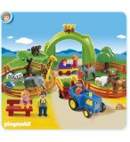 PLAYMOBIL 1.2.3 6754 COFFRET GRAND ZOO
