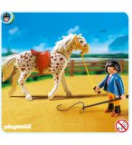 PLAYMOBIL CENTRE EQUESTRE 5107 CHEVAL KNABSTRUPPER