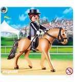 PLAYMOBIL CENTRE EQUESTRE 5111 CHEVAL DE DRESSAGE