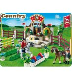 PLAYMOBIL COUNTRY 5224 PISTE D'OBSTACLES HIPPIQUES