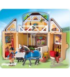 PLAYMOBIL COUNTRY 5418 COFFRE ECURIE