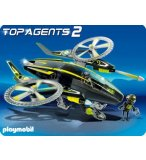 PLAYMOBIL TOP AGENTS 2 5287 TWINCOPTER DES MEGA MASTERS