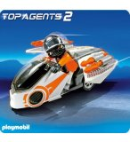 PLAYMOBIL TOP AGENTS 2 5288 MOTO ET AGENT SECRET