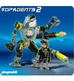 PLAYMOBIL TOP AGENTS 2 5289 ROBOT DES MEGA MASTERS