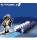 PLAYMOBIL TOP AGENTS 2 5290 LAMPE D'ESPIONNAGE AVEC AGENT SECRET