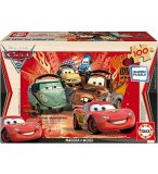 PUZZLE EN BOIS CARS 2 100 PIECES - EDUCA - 14937