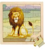 PUZZLE EN BOIS LION 20 PIECES - WILD REPUBLIC - 66812
