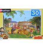 PUZZLE MANEGE ENCHANTE 30 PIECES -NATHAN - 862733