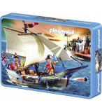 PUZZLE PLAYMOBIL BATEAU PIRATE 60 PIECES - SCHMIDT - 56606