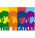 PUZZLE THE BEATLES POP ART 1000 PIECES - EDUCA - 14471