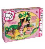 SAFARI TOUR HELLO KITTY - BRIQUES - JEU DE CONSTRUCTION