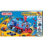 TRAIN MECCANO BUILD AND PLAY - 6 MODELES - AVION - JEU DE CONSTRUCTION - 738108